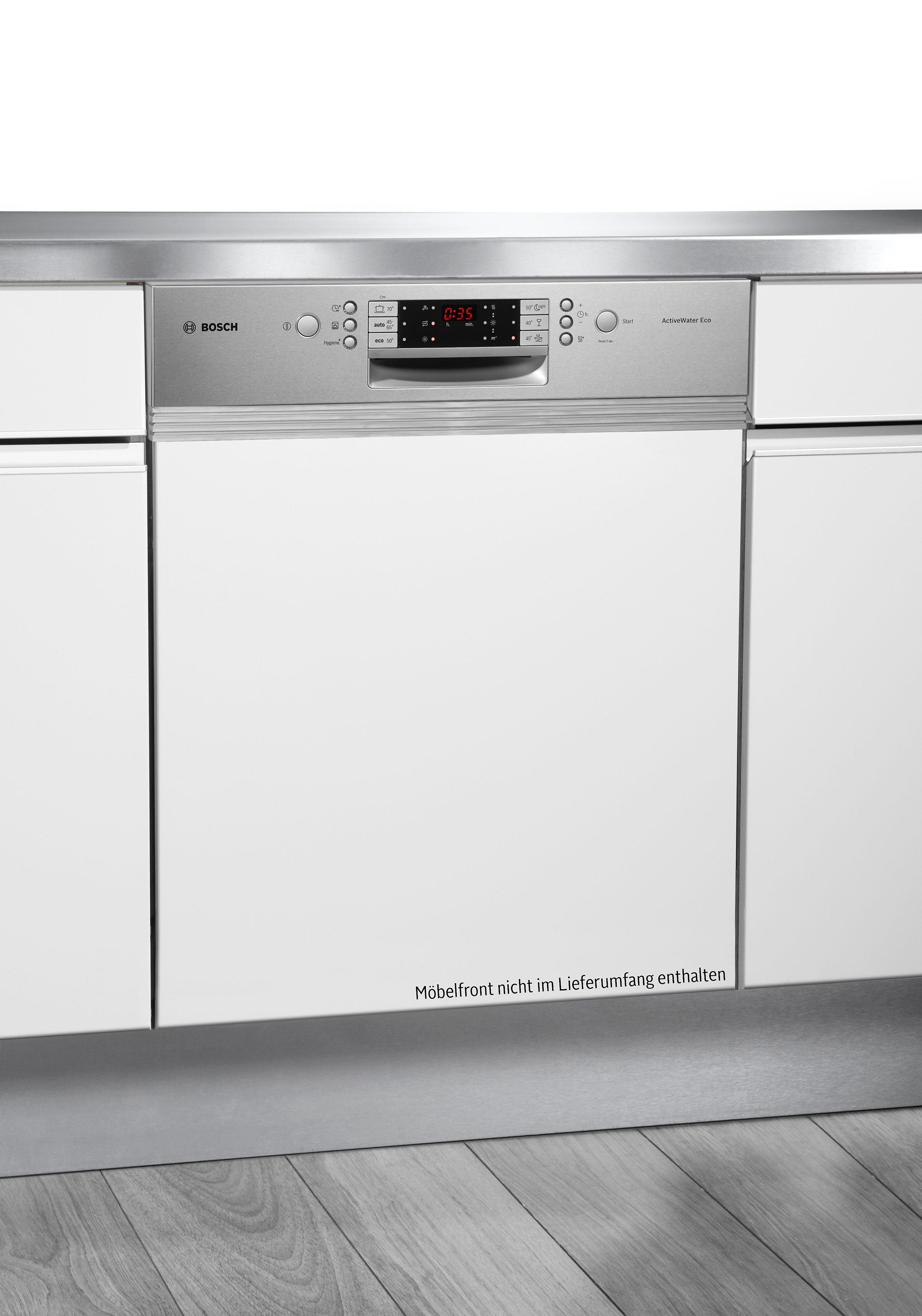 Bosch integrierbarer Einbaugeschirrspüler SMI69P25EU, A++, 6,5 Liter, 13 Maßgedecke