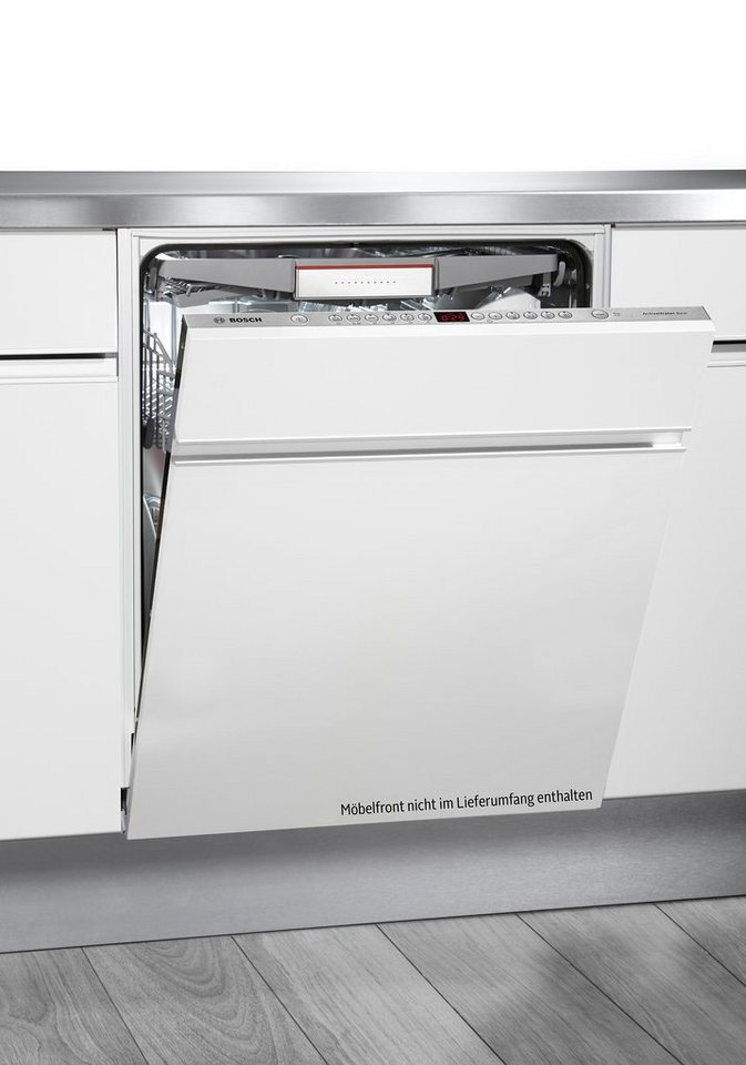 Bosch vollintegrierbarer Einbaugeschirrspüler SMV69P20EU, A++, 6,5 Liter, 13 Maßgedecke in weiß