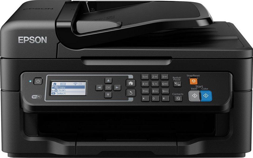 Epson WF-2630WF Multifunktionsdrucker in schwarz