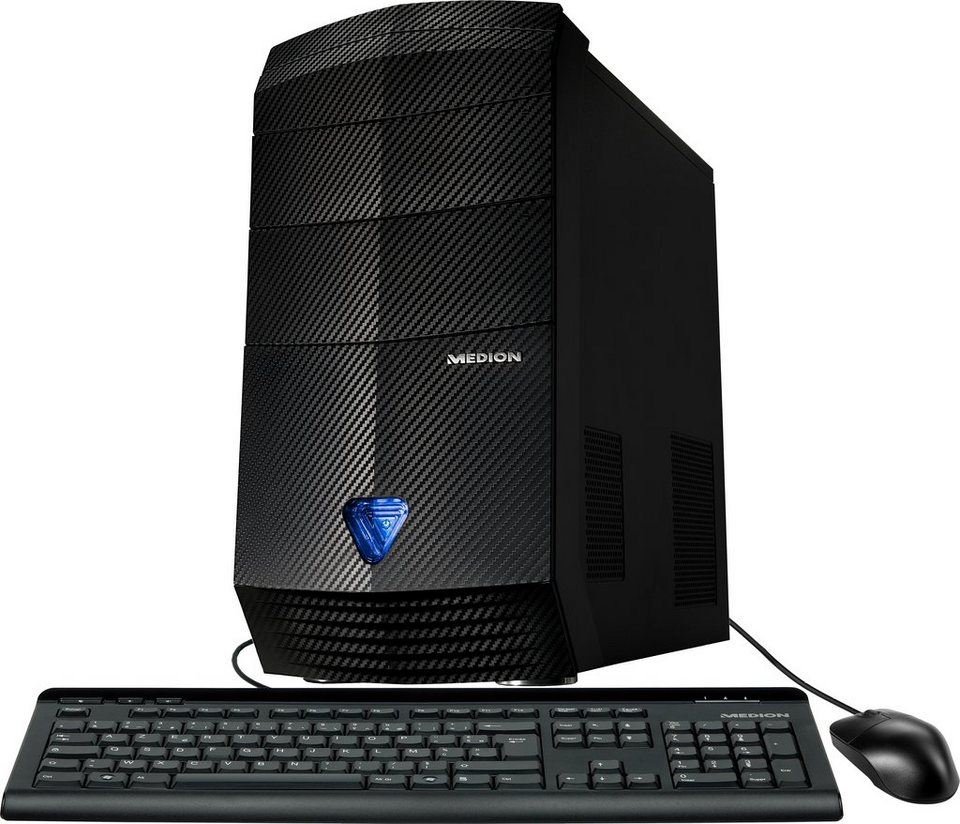 Medion® AKOYA S91-B781 PC, Intel® Pentium™, 8192 MB DDR3-RAM, 1000 GB Speicher in schwarz