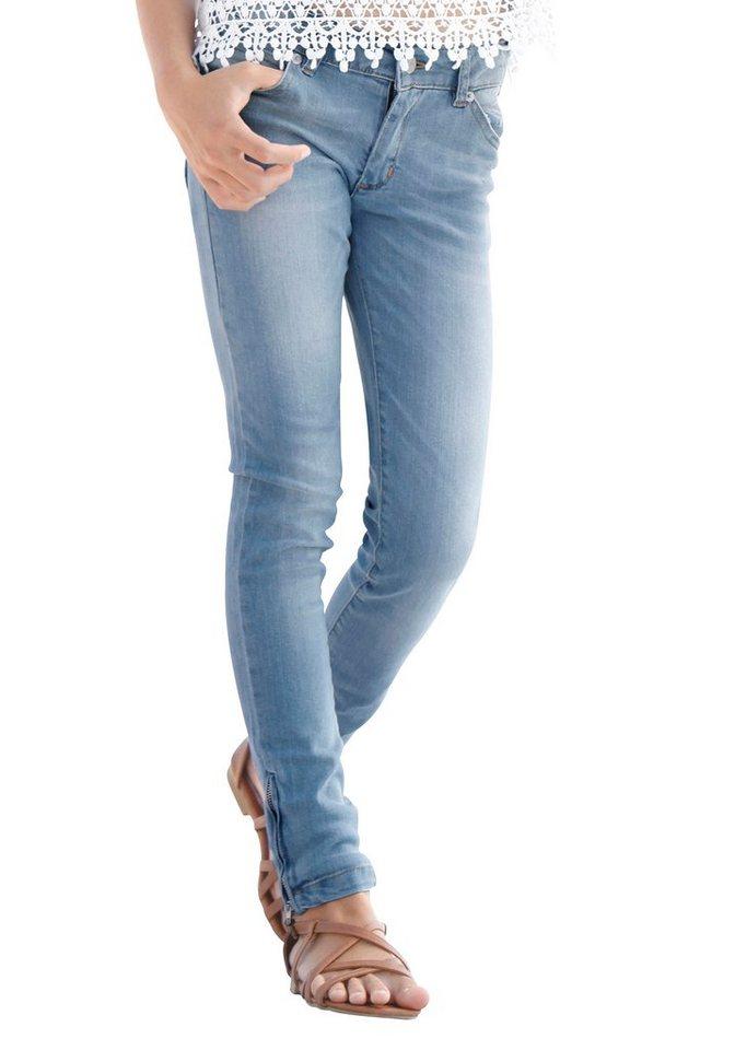 Buffalo 5-Pocket-Jeans Skinny in light-blue