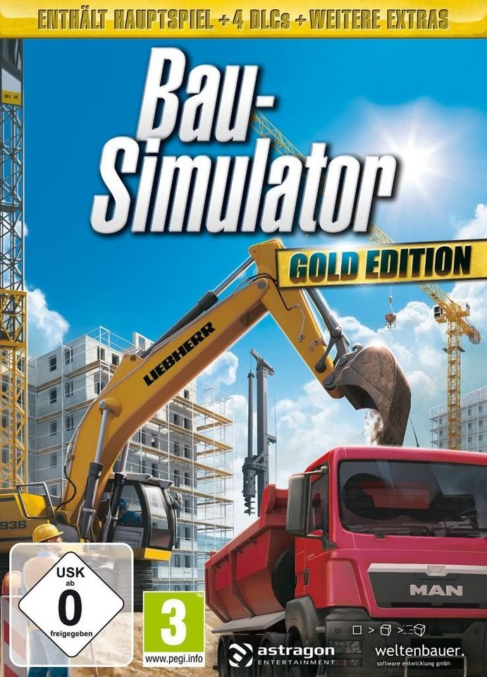 astragon pc spiel bau simulator gold edition otto. Black Bedroom Furniture Sets. Home Design Ideas