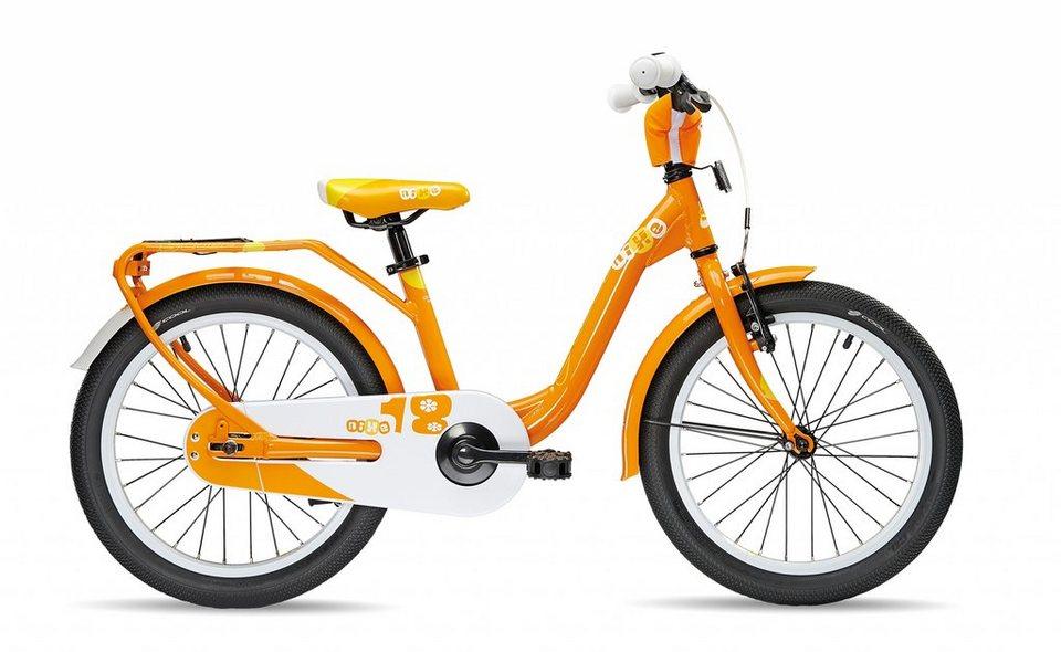 S'COOL Kinderrad »niXe 18« in orange