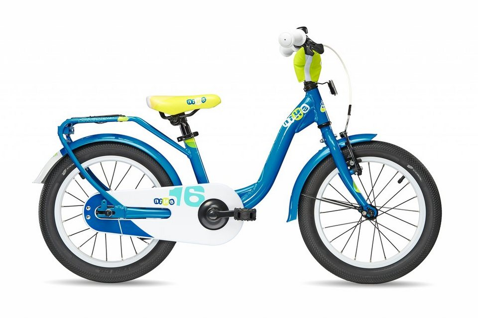 S'COOL Kinderrad »niXe 16« in blau