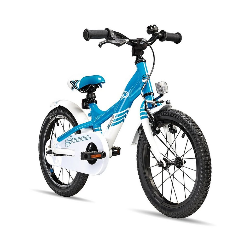 S'COOL Kinderrad »XXlite 16« in blau
