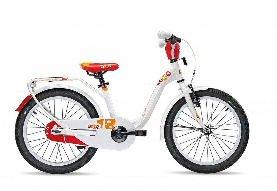 S'COOL Kinderrad »niXe 18« in weiß
