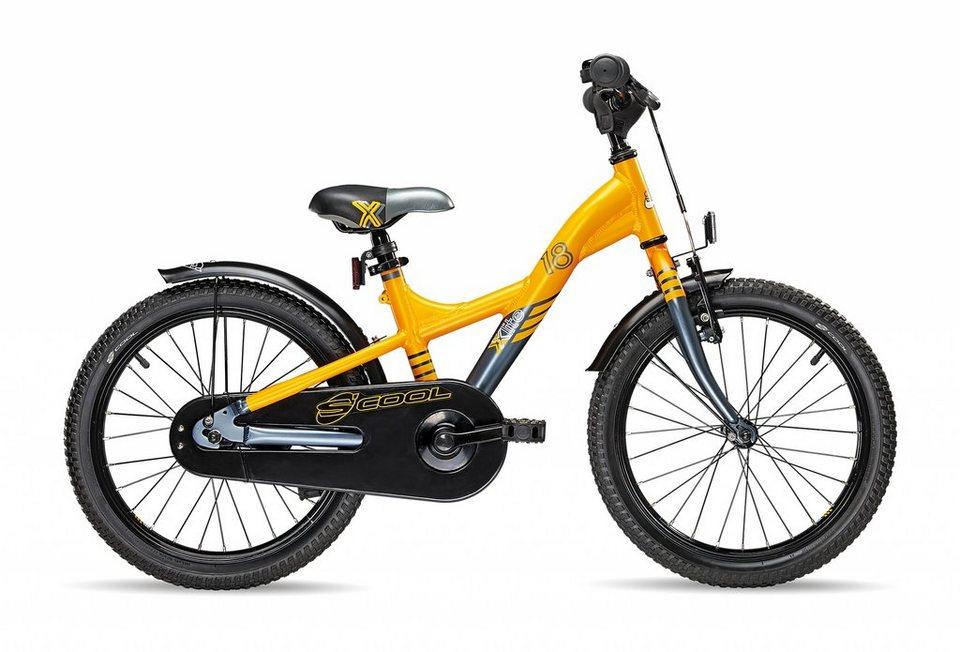 S'COOL Kinderrad »XXlite 18« in orange