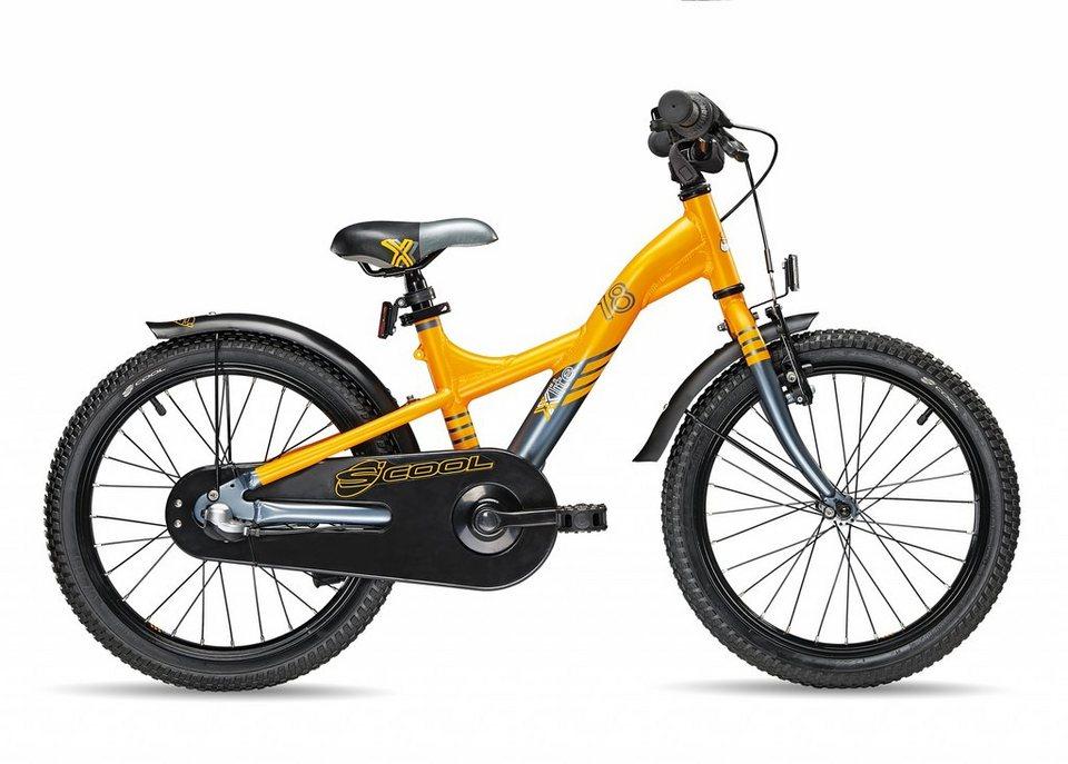 S'COOL Kinderrad »XXlite 18-3« in orange