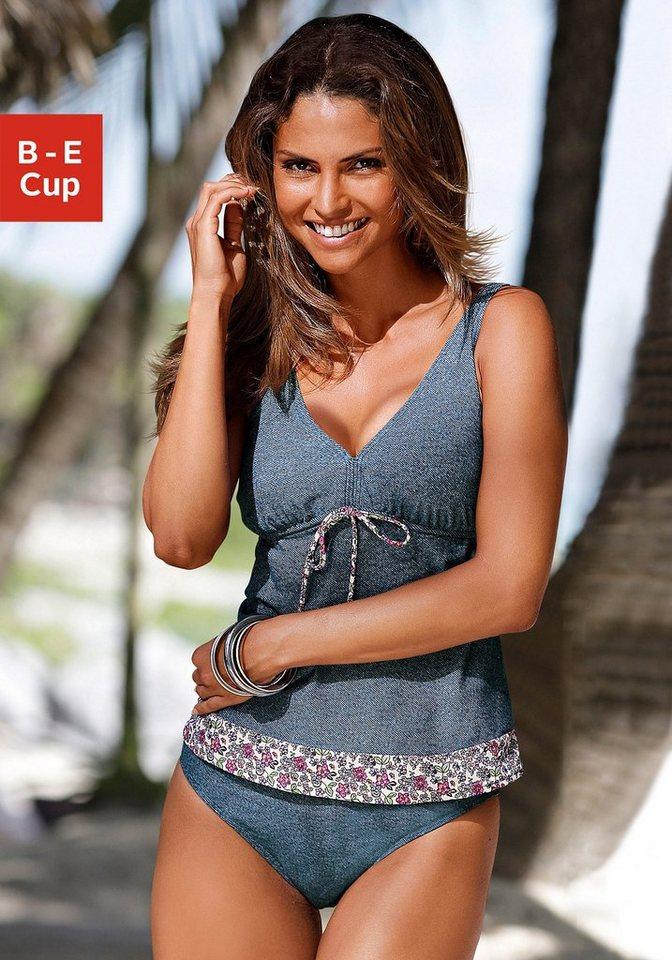 Bademode - s.Oliver Beachwear Bügel Tankini in modischer Jeans Optik ›  - Onlineshop OTTO
