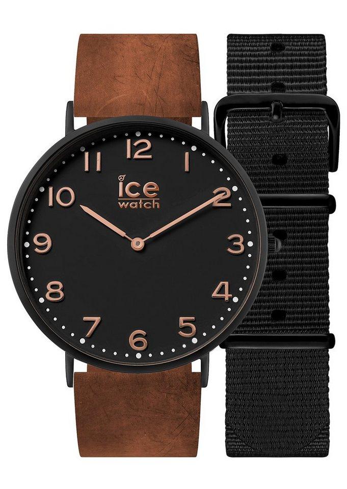 ice-watch Armbanduhr, »ICE city Leyton, CHL.A.LEY.41.N.15« in braun