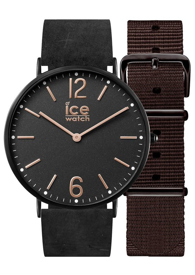 ice-watch Armbanduhr, »ICE city Cottage, CHL.B.COT.41.N.15« in schwarz
