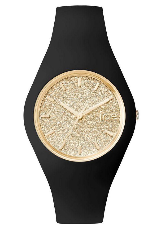 ice-watch Armbanduhr, »ICE glitter, ICE.GT.BGD.U.S.15« in schwarz