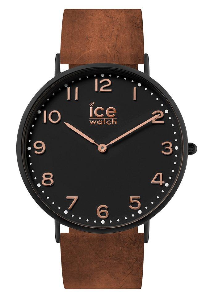 ice-watch Quarzuhr »ICE city Leyton, CHL.A.LEY.41.N.15« in braun