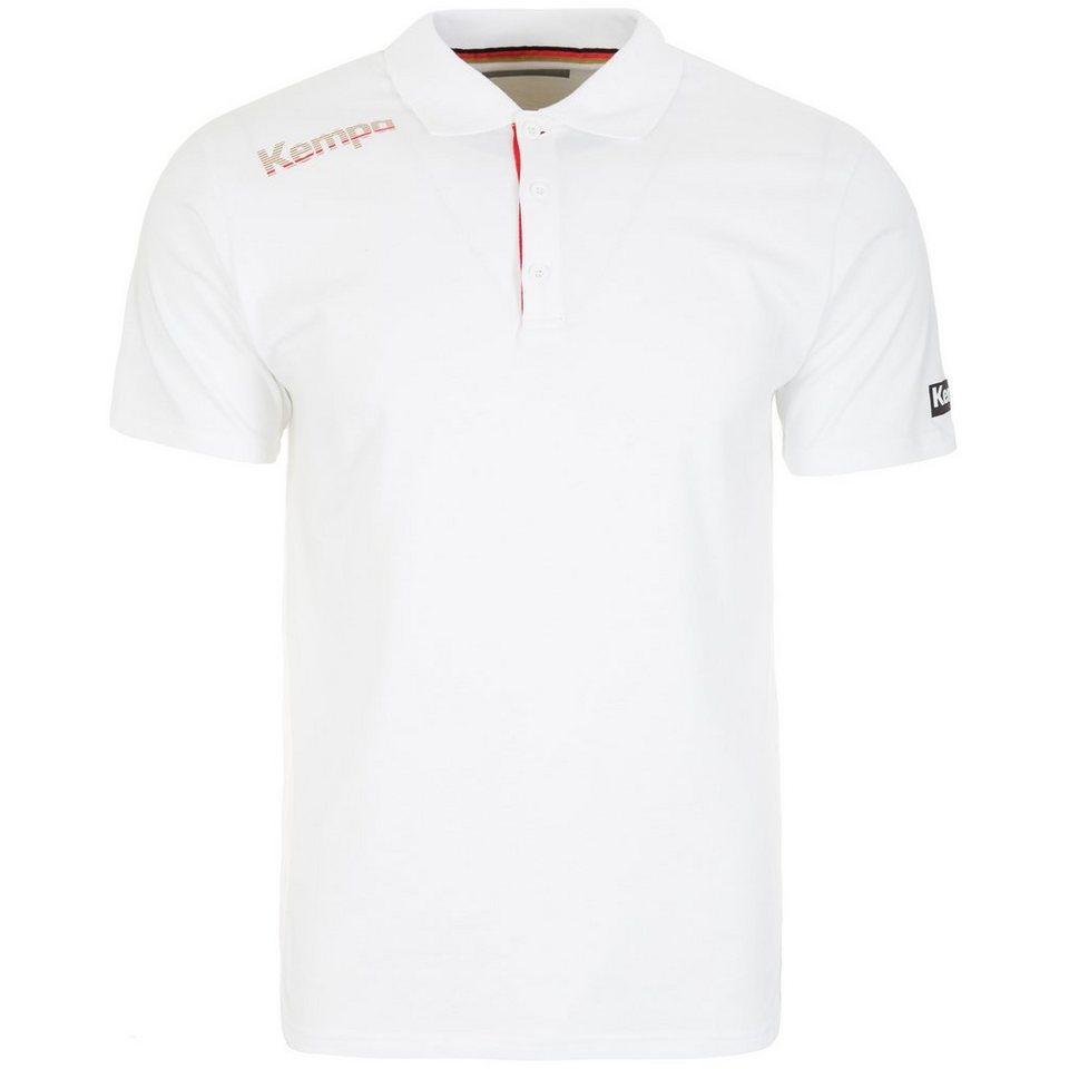 KEMPA Core DHB Poloshirt Herren in weiß