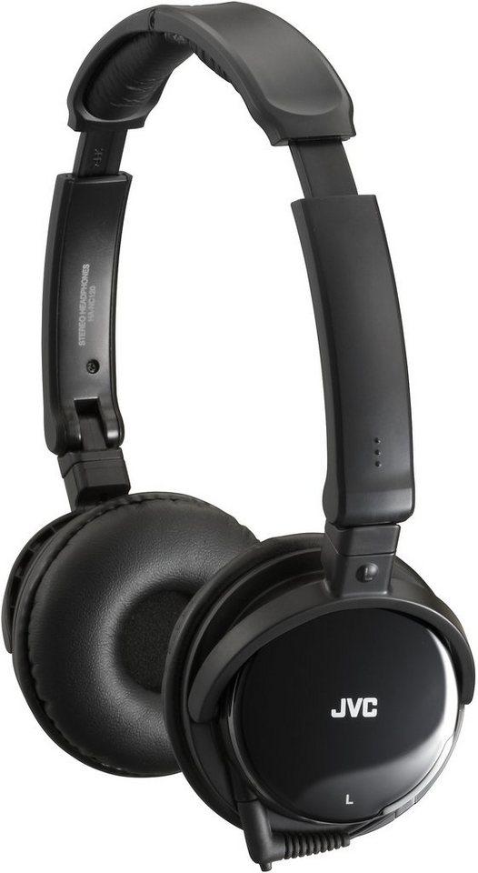 JVC Noice Cancelling Kopfhörer »HA-NC120« in schwarz