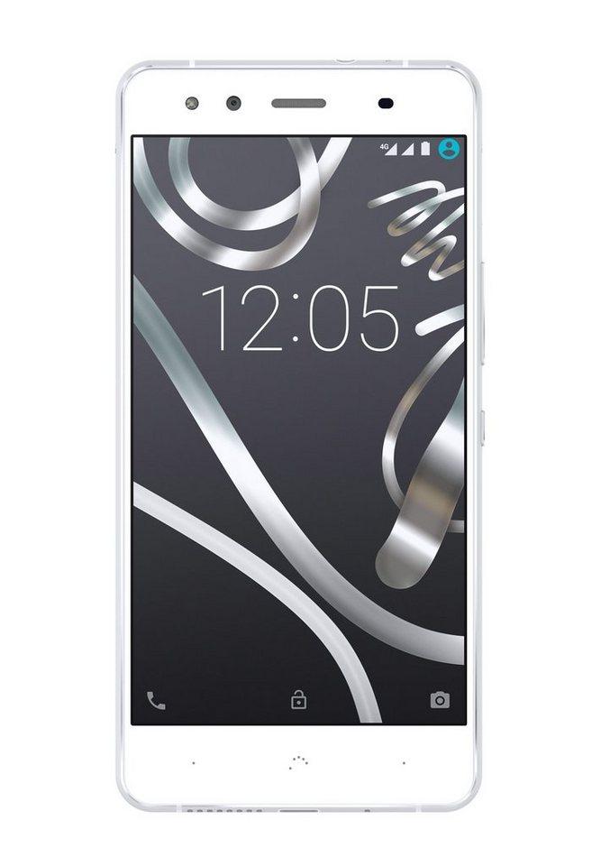 bq Smartphone »Aquaris X5 16+2GB« in weiss