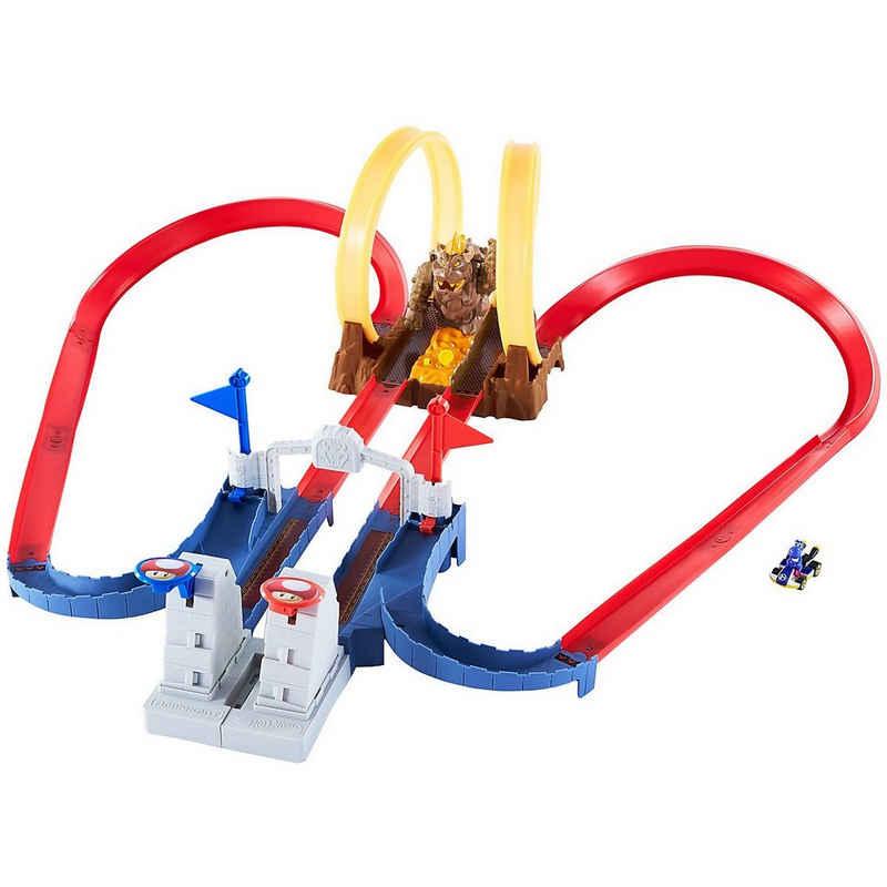 Mattel® Autorennbahn »Hot Wheels Mario Kart Bowsers Festung Track-Set«