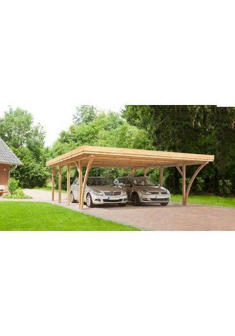 Kiehn-Holz Doppelcarport »KH 105« 210 cm Einfahrt...