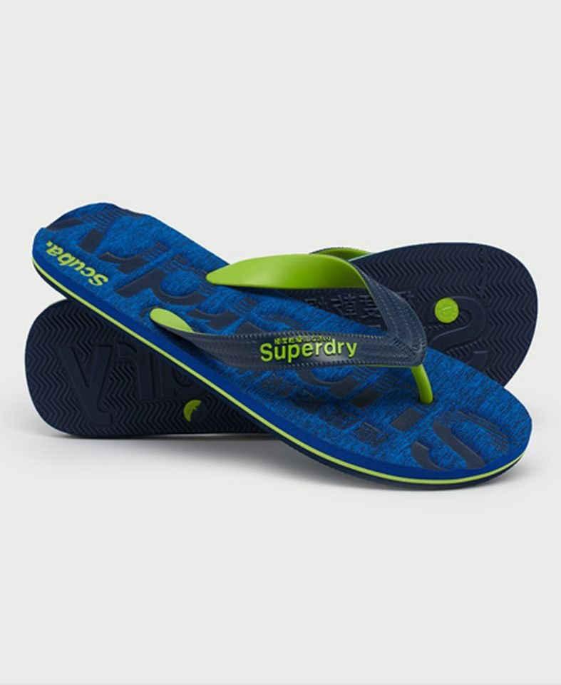 Superdry »SCUBA GRIT FLIP FLOP Cobalt Grit« Schlappen