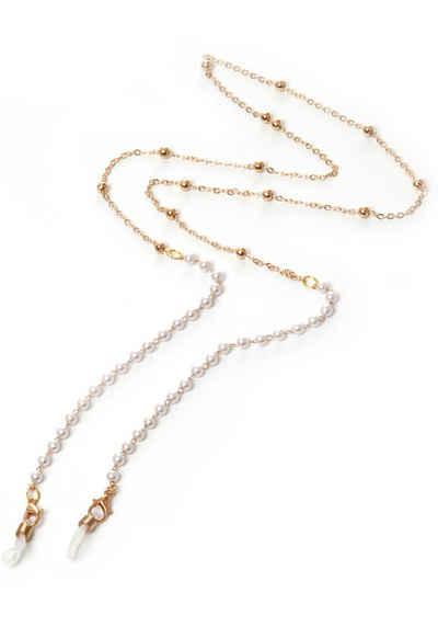 J.Jayz Brillenkette »feminin, elegant«, mit Acrylperlen