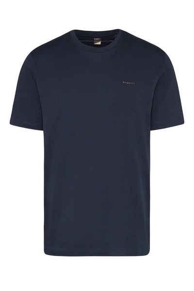 bugatti T-Shirt aus reiner Baumwolle