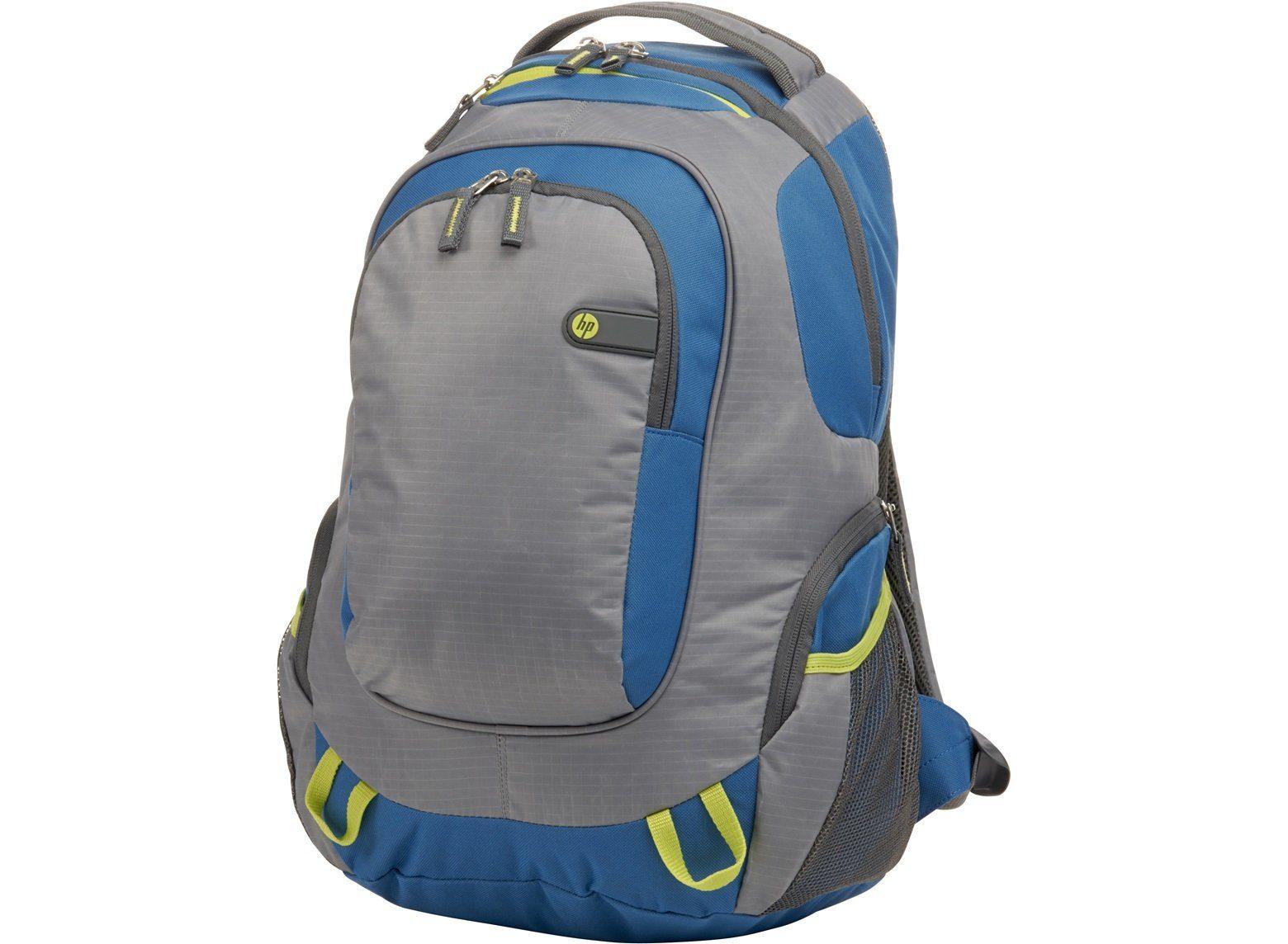 """HP Tasche »Outdoor-Sportrucksack 15,6"""" blau/grün«"""