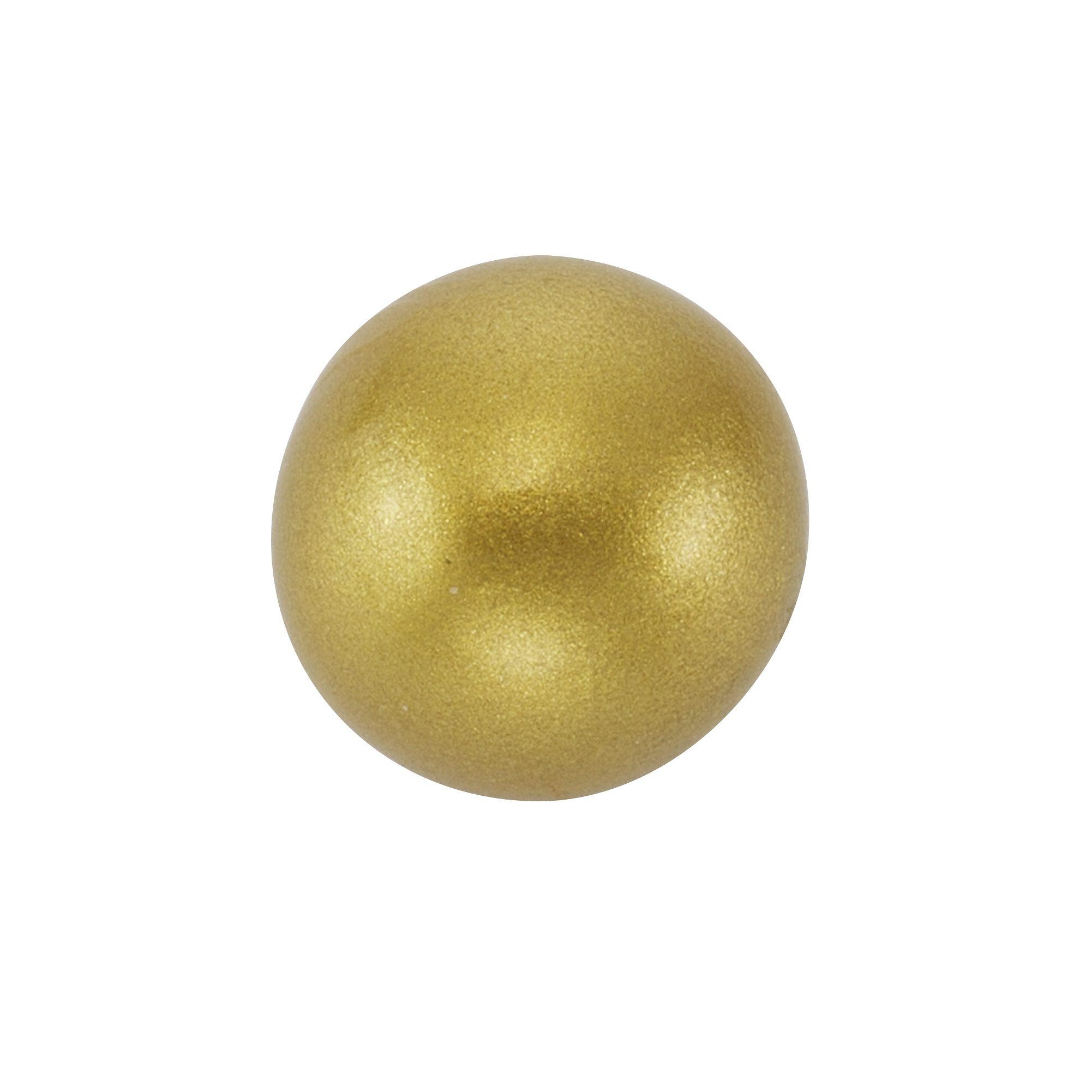 Zeeme Klangkugel goldfarben