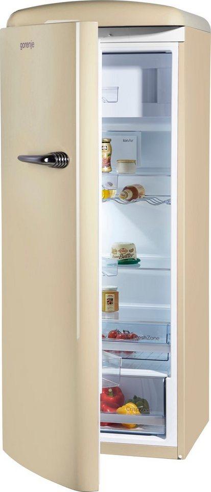 GORENJE Kühlschrank ORB 153 C-L, 154 cm hoch, 60 cm breit ...