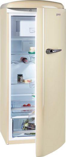 GORENJE Kühlschrank ORB153C, 154 cm hoch, 60 cm breit, 154 cm hoch, 60 cm breit