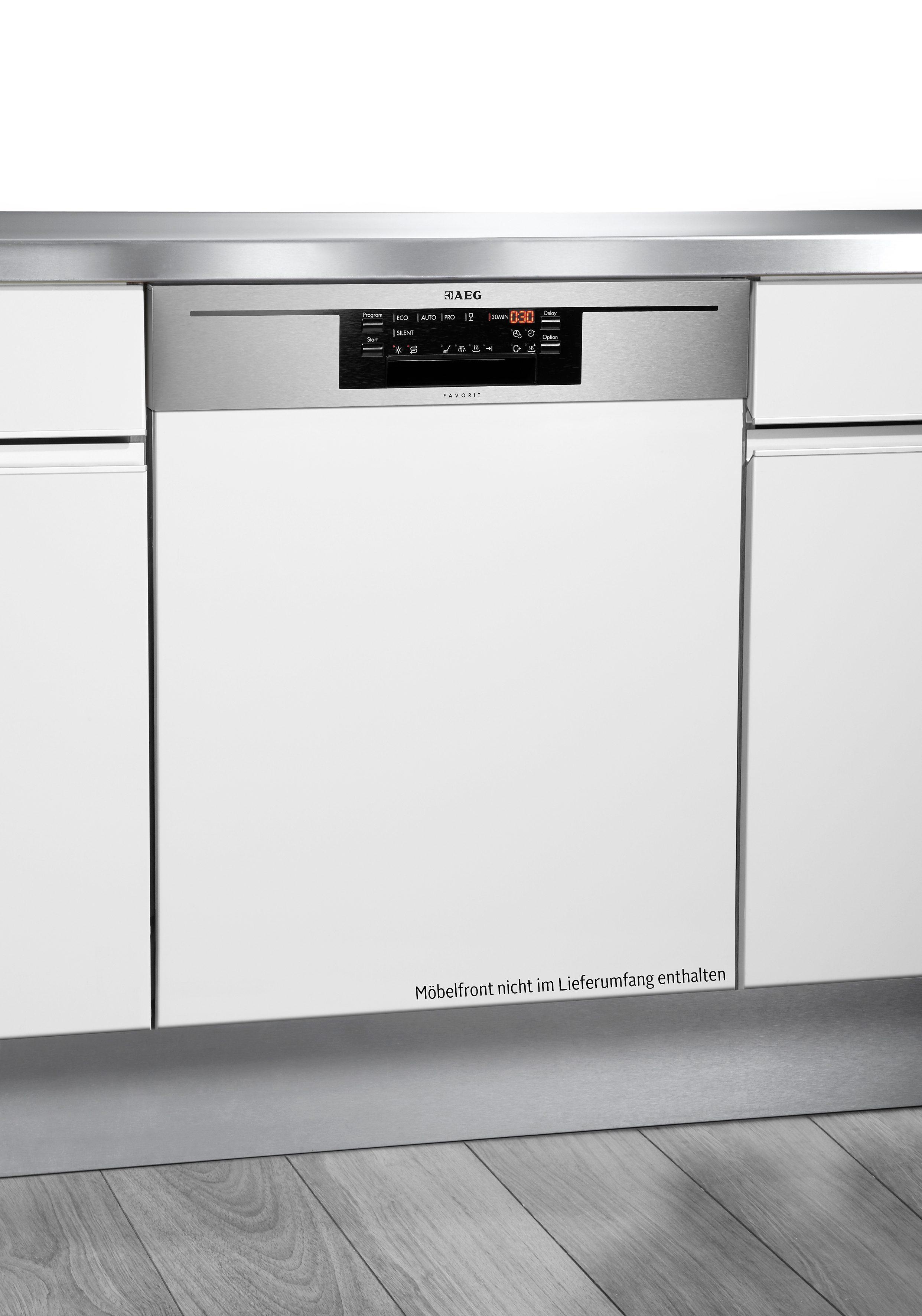 AEG integrierbarer Einbau-Geschirrspüler FAVORIT / F76602IM0P, A+++, 10,2 Liter, 13 Maßgedecke