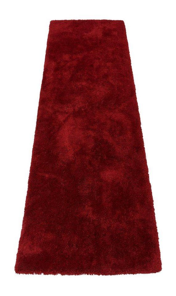 Hochflorläufer, My home Selection, »Magong«, Höhe 25 mm, maschinengetuftet in rot