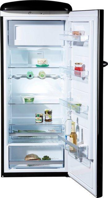 GORENJE Kühlschrank ORB153BK, 154 cm hoch, 60 cm breit, 154 cm hoch, 60 cm breit