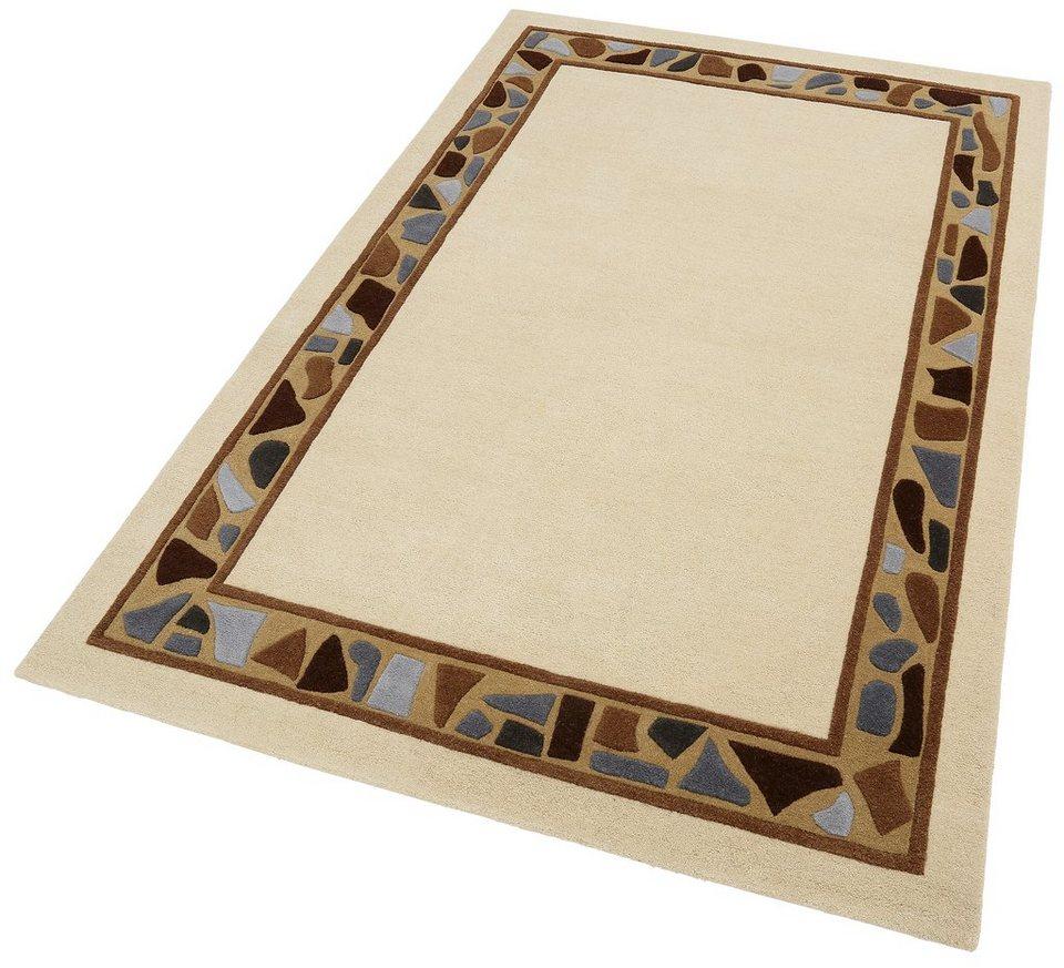 Teppich, Home affaire Collection, »Janak«, Höhe 11 mm, handgetuftet in braun