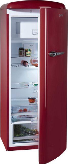 GORENJE Kühlschrank ORB 153 R, 154 cm hoch, 60 cm breit, 154 cm hoch, 60 cm breit | Küche und Esszimmer > Küchenelektrogeräte > Kühlschränke | Gorenje