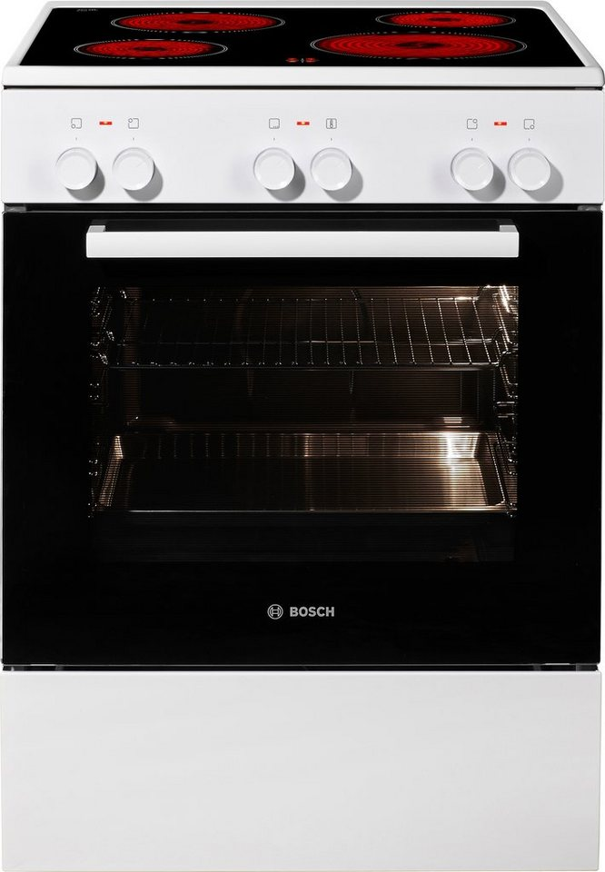 Bosch Standherd HCA422120, A, 60,0 cm breit in weiß