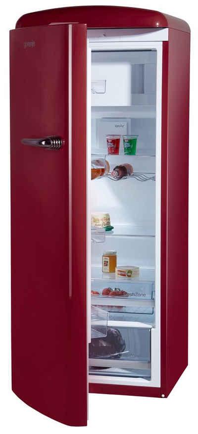 GORENJE Kühlschrank ORB153R-L, 154 cm hoch, 60 cm breit, 154 cm hoch, 60 cm breit