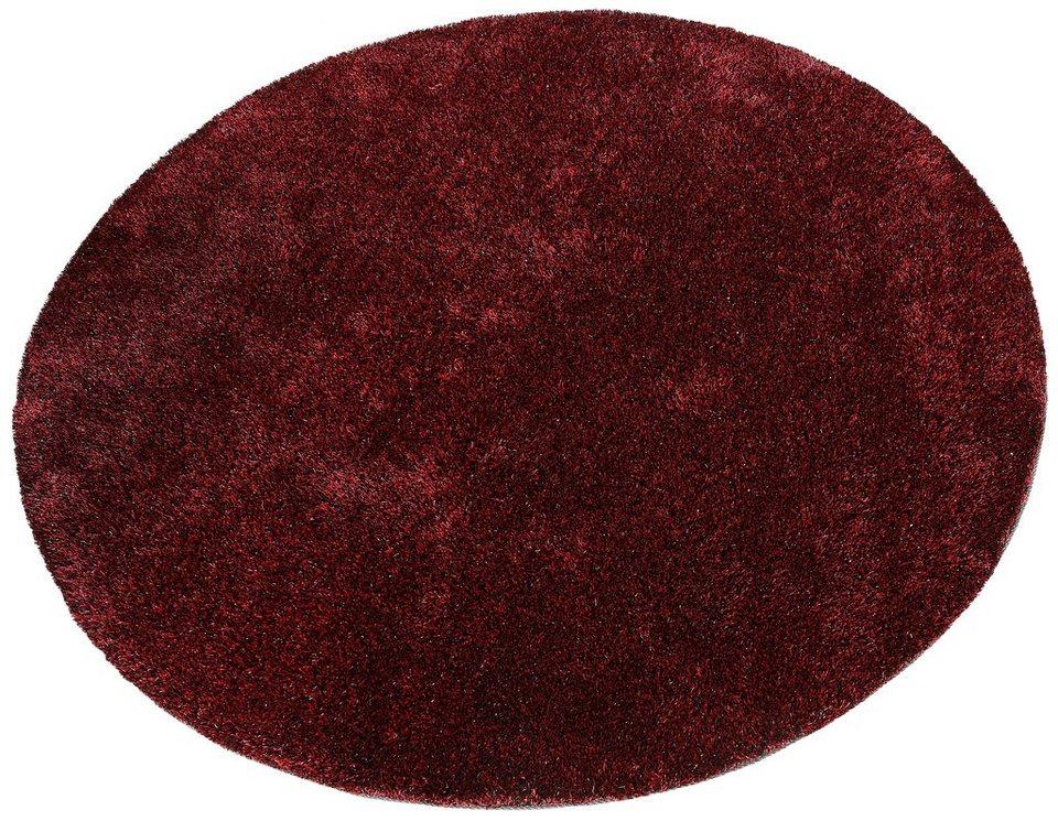 Teppich Rund, my home, »Harbin«, handgetuftet in rot