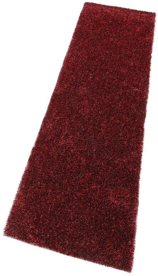 Läufer, my home, »Harbin«, Höhe: 22 mm, handgetuftet in rot