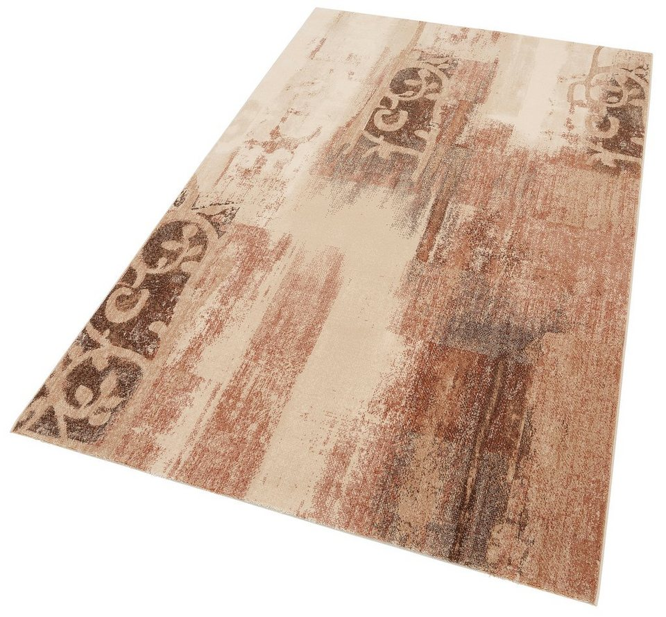 Teppich, OTTO KERN, »Marigold«, gewebt, aus reiner Neuseelandwolle in gold