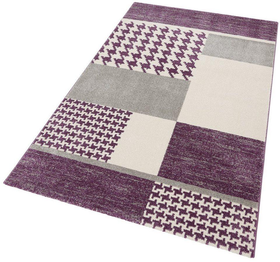 Teppich, Bruno Banani, »Lambach«, gewebt in lila