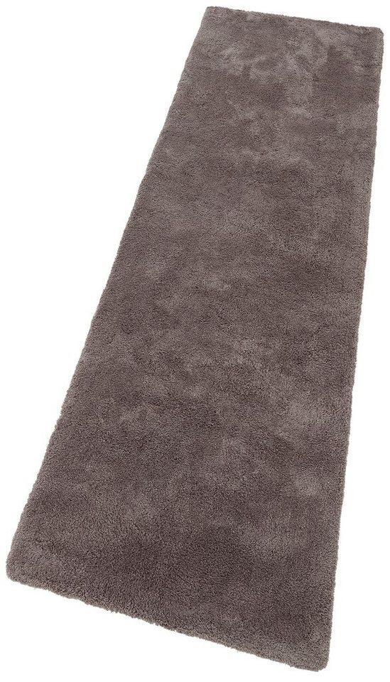 Hochflorläufer, My home Selection, »Magong«, Höhe 25 mm, handgetuftet in grau