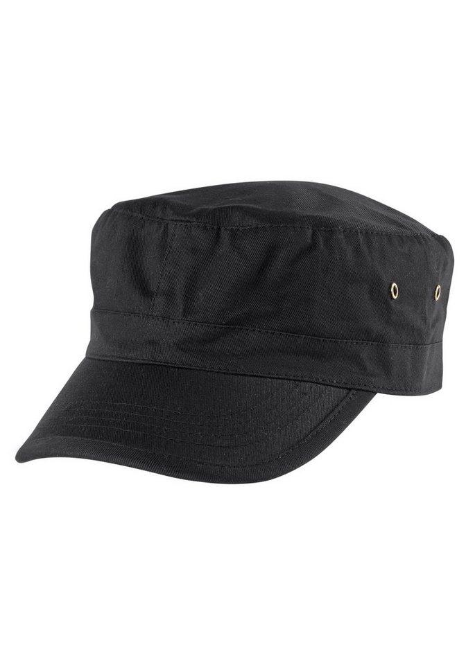 J. Jayz Army Cap im zeitlosen Design in schwarz