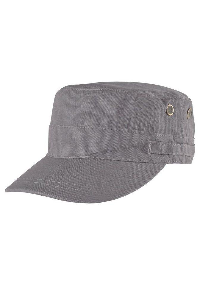 J. Jayz Army Cap im zeitlosen Design in grau