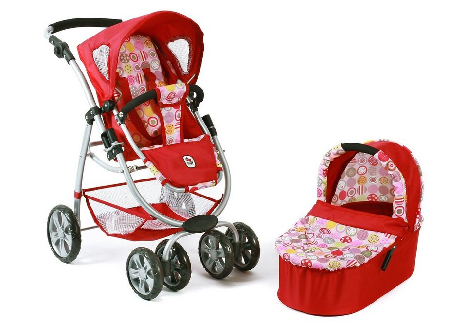 CHIC2000 2-in-1 Puppenwagen, »Bellina, Ruby Red«