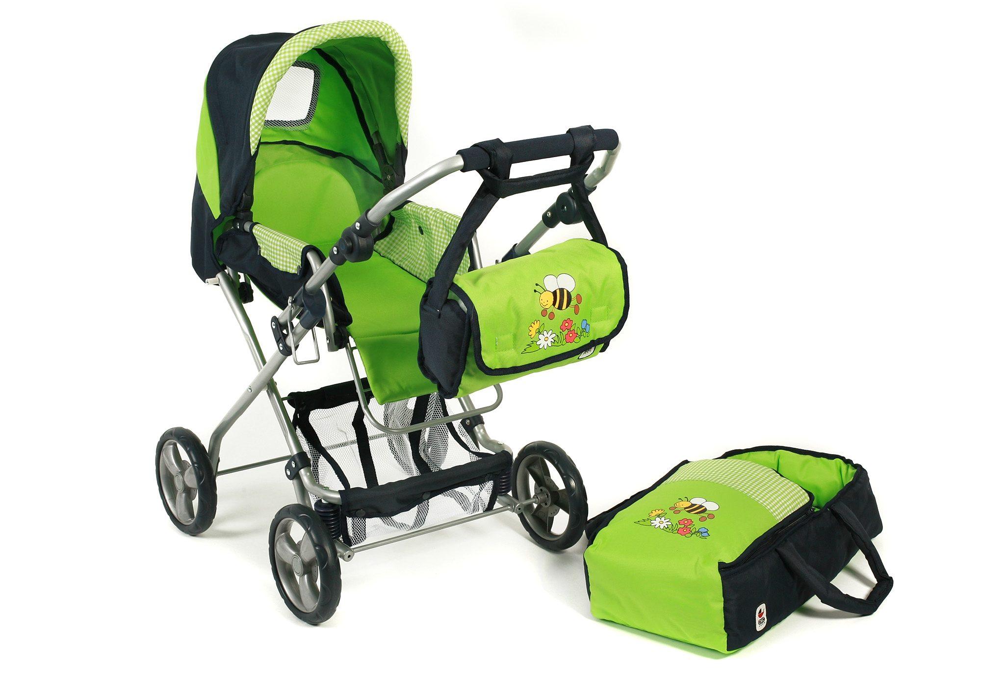 CHIC2000 Puppenwagen mit Umhängetasche, »Bambina, Bumblebee«