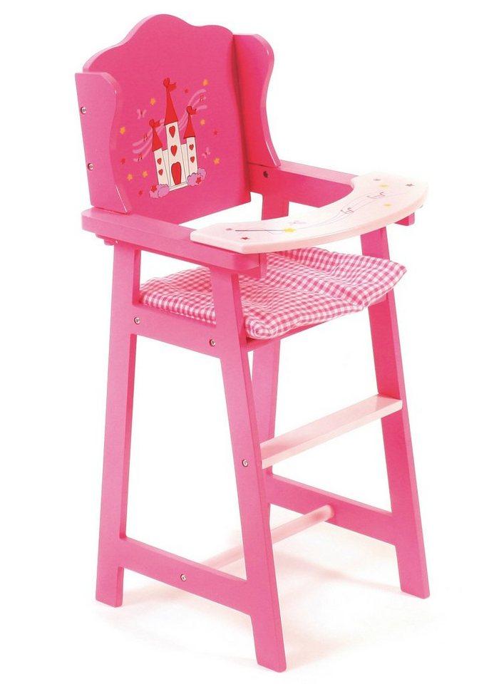 CHIC2000 Puppenhochstuhl, »Little Fairy« in pink