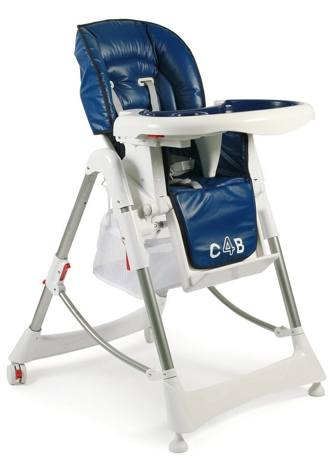 CHIC4BABY Hochstuhl mit verstellbarer Sitzposition, »Enjoy« in dunkelblau
