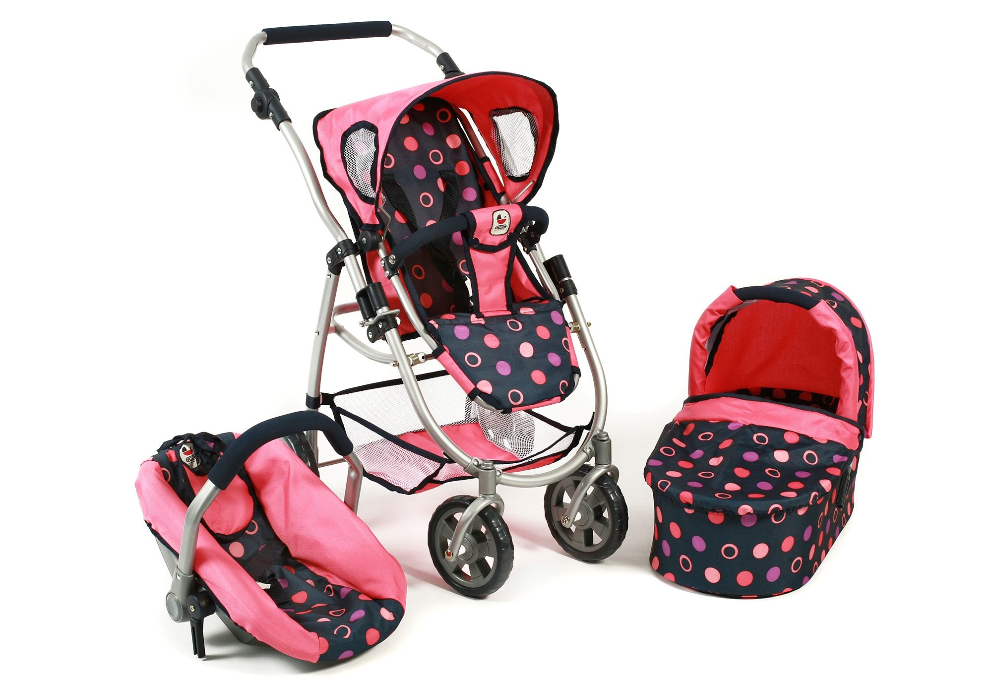 CHIC2000 3-in-1 Puppenwagen, »Emotion all in, corall«