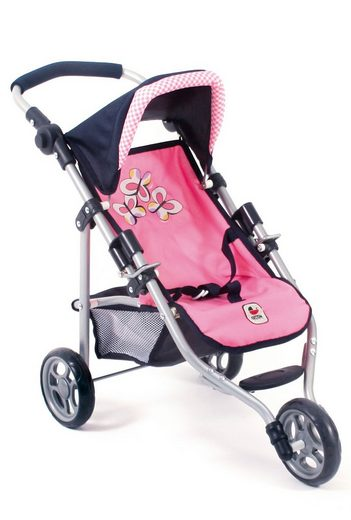CHIC2000 Puppenbuggy »Lola, Pink Checker«