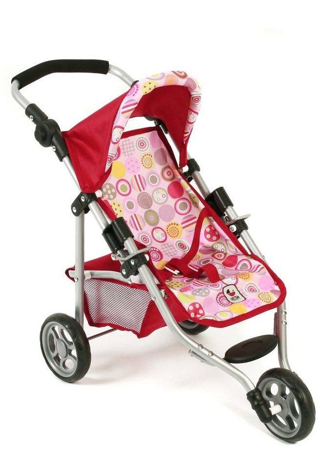 CHIC2000 Puppen-Jogging-Buggy, »Lola, Ruby Red« in pink